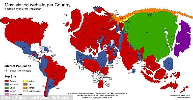 Les sites les plus visités au monde
